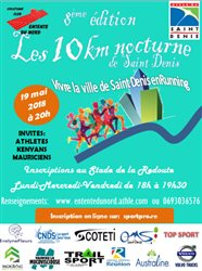 10km nocturne de Saint-Denis - Edition 2018